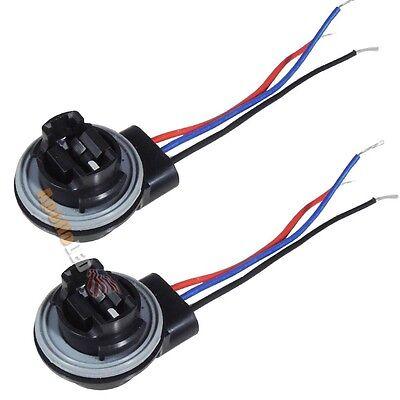 2x 3156 3057 3157 3356 3456 3457 LED Bulb Signal Light Harness Socket