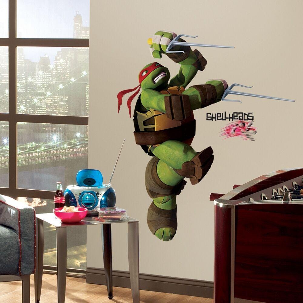 """RoomMates Teenage Mutant Ninja Turtles """"Ralph"""" Peel & Stick"""