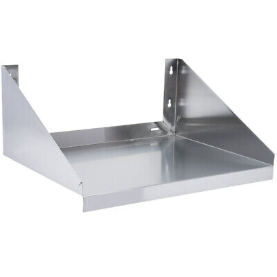Cmi 24x24 Commercial Stainless Steel Wall Mount Microwave Oven Shelf