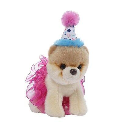 Gund Plüsch Birthday Tutu Bitty BOO Worlds Cutest Dog Kuschelhund Stoff Hund
