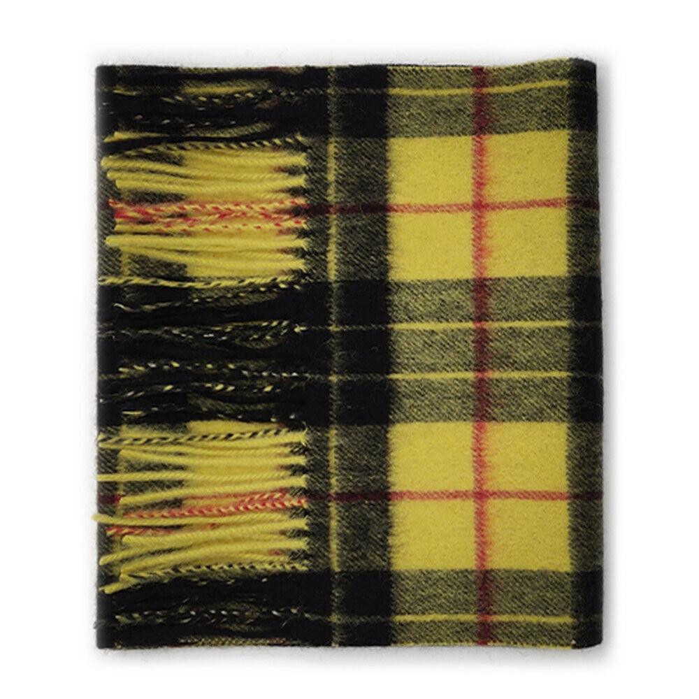 Bannockbane Silver Kiltane of Scotland 100/% Lambswool Scottish Tartan Scarf