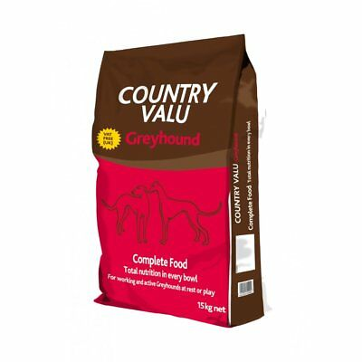 Burgess Country Valu Greyhound Food 15Kg - Greyhound Dog Food