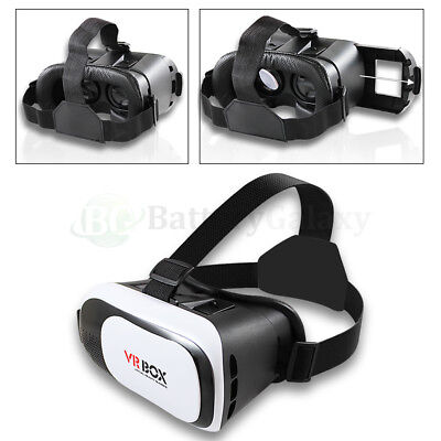 NEW! 3D Virtual Reality VR Glasses Headset for Samsung Galaxy Note 2 3 4 5 6 7 8
