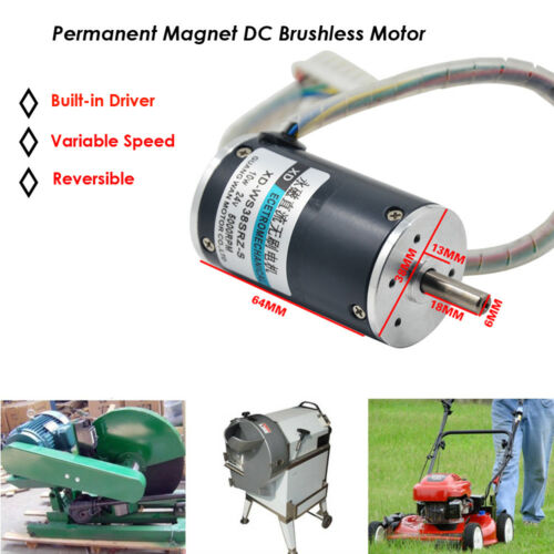 Dc12v Permanent Manget Motor Brushless Variable Speed