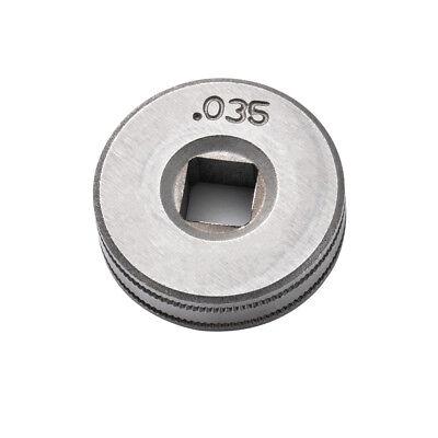 25mm Diameter Mig Welder Wire Feed Drive Roller Roll Wheel .030-.035 Bi1141