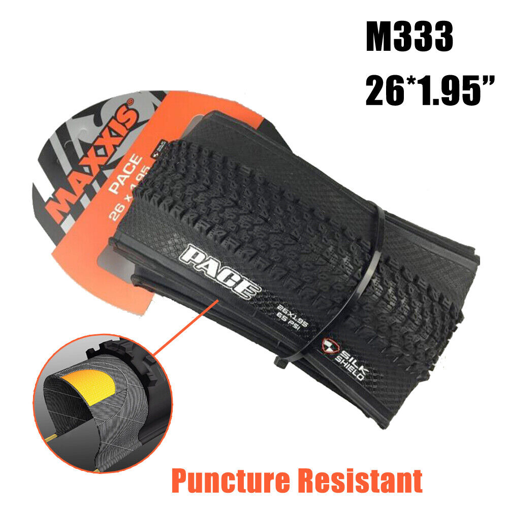 For MAXXIS M333 26*1.95 Mountain Road Bike Foldable Tire 60TPI Puncture-Resist Bicycle Tires, Tubes & Wheels