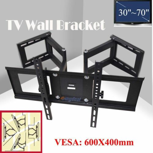 Corner Full Motion Swivel TV Wall Mount 26 32 40 42 46 50 54 56 60 65 70 75 80
