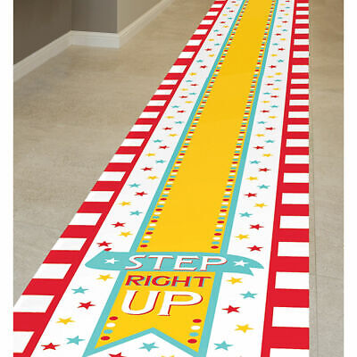 Circus Funfair Carnival Showman Theme Party Floor Star Runner Decoration  - Carnival Party Theme