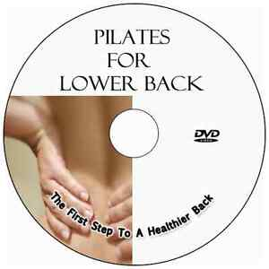 PILATES FOR LOWER BACK PAIN DVD WORKOUTS, EXERCISE FOR CHRONIC OR MILD BACK PAIN