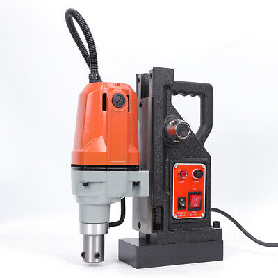 110v High-speed Magnetic Drill Press 50mm Boring 2700 Lbs Magnet Force Tapping