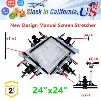 Fabric Mesh Stretcher Manual Silk Screen Printing Stretcher Diy Stretching Tool