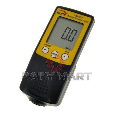 New Cm8801f Digital Coating Thickness Gauge Paint Meter Tester 0-1250um0-50mil