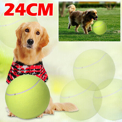 24CM Big Giant Pet Dog Puppy Tennis Ball Thrower Chucker Launcher Play Toy