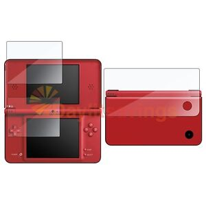 LCD SCREEN PROTECTOR FILM for NINTENDO DSi NDSI LL XL