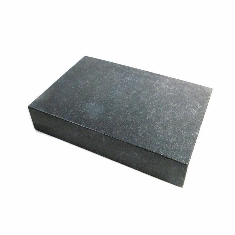 "18.25"" L x 12.25"" W x 3.25"" H Dark Gray Granite Surface Plate For Machine Shops"