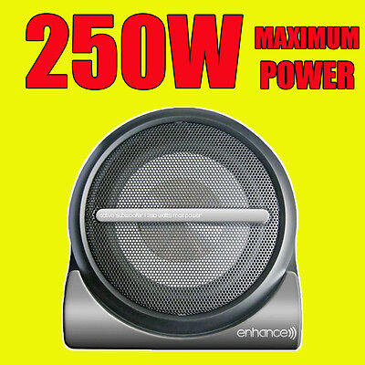 Enhance Compact 250W Active Car Amplified Powered 8