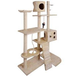 NEW Cat Scratching Poles Post Furniture Tree 170cm Beige North Melbourne Melbourne City Preview