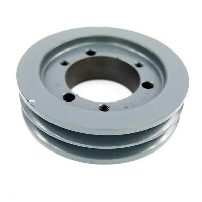 Masterdrive 23v412sh Sh Bushing Bore V-belt Pulley 2-groove