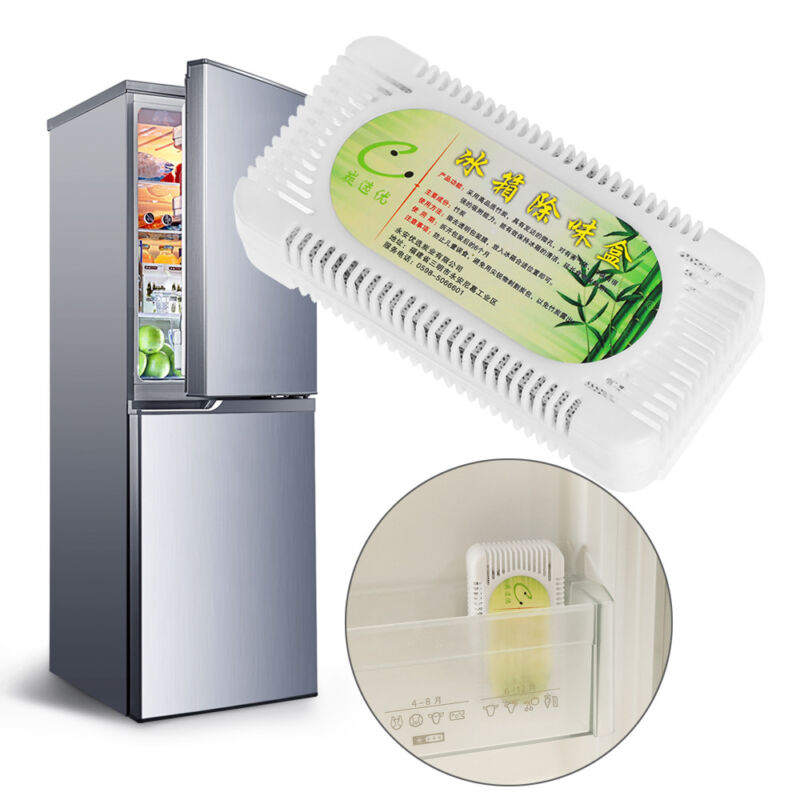 Activated Bamboo Charcoal Fridge Smell Remover Carbon Purifier Air Fresher---