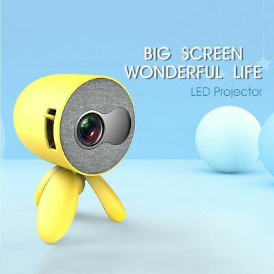 Mini Projector Video Player HDMI USB 3D LED Pocket Beamer 480*272 Pixels Support