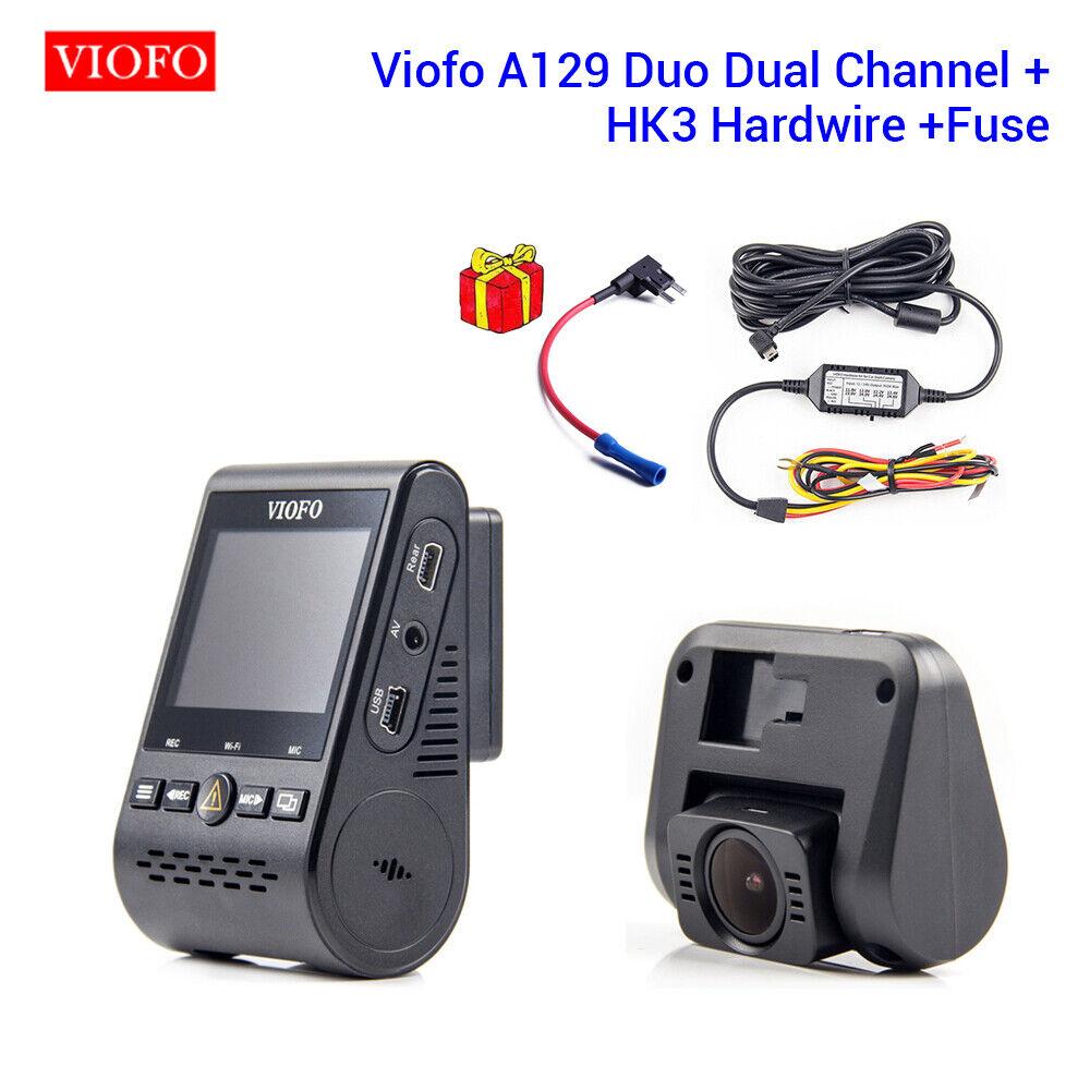 Remote HK3 ACC Hardwire Kit CPL HD Viofo A129 Duo 2CH GPS Car Dash Cam DVR