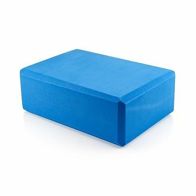 10x Blue Yoga Block Pilates Foam Foaming Brick Stretch Health Fitness Exercise