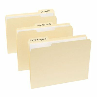 Officemax Manila File Folders 3-tab Position Letter Size 100box