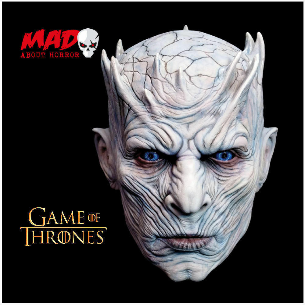 Official GAME OF THRONES Night King Latex Collectors Mask-TV ...
