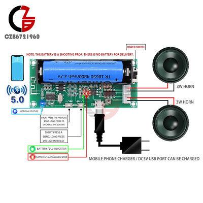 Pam8403 Digital Amplifier Board Bluetooth 5.0 Audio Module 2 Channel 23w Diy