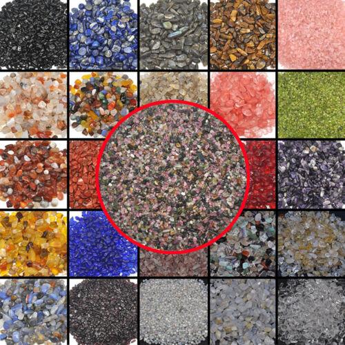 1/4lb Loose Bulk Semi Tumbled Stones Natural Crystal Healing Gemstone Mini Chips