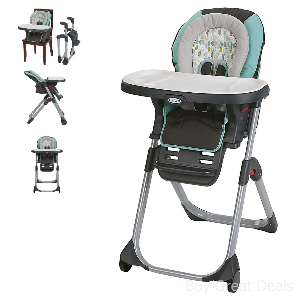 Details About Graco Duo Diner Lx Highchair Adjustable Convertible Baby High Chair Groove New