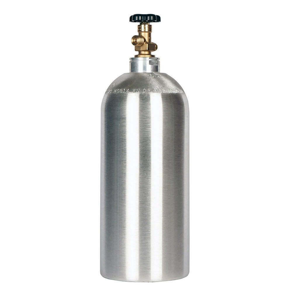 LUXFER 10lb Co2 Tank Aluminum Cylinder With Cga320 Valve