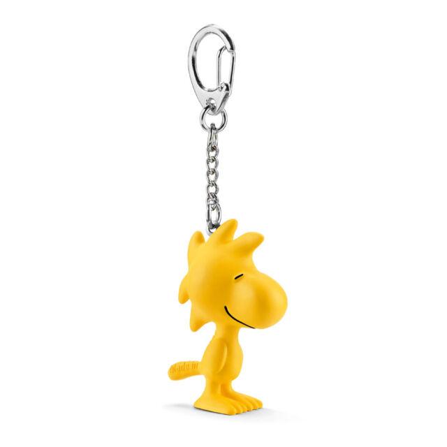 Schleich 22039 Woodstock Keychain (Snoopy Charlie Brown Peanuts) Plastic Figure