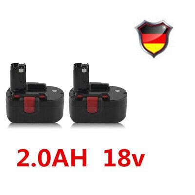2X NI-CD 2.0AH 18V  Akku Ersatzakku Für BOSCH BAT025 BAT026 BAT160 GSB 18 VE-2 c online kaufen
