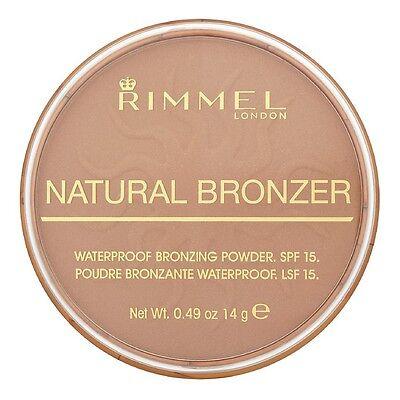 Rimmel London Natural Bronzer, Sun Bronze [022] 0.49 oz