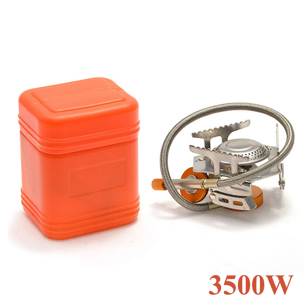Portable Outdoor Camping Gas Stove Butane Propane Burner Hiking Picnic 3500W Camping & Hiking