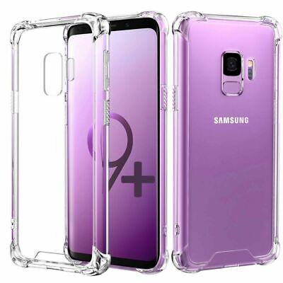 Funda antigolpes Samsung S9+ plus esquinas reforzadas de TPU de alta calidad