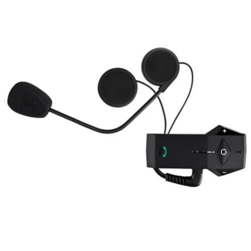 Motorbike Bluetooth Communication Motorcycle Helmet Intercom Headset NFC Radio
