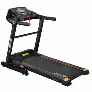 Home Electric Treadmill Black