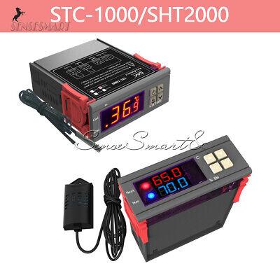 Sht2000 Stc-1000 Temperature Temp Humidity Thermostat Controller 110-220230v