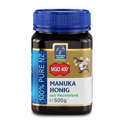 Manuka-honig (Manuka Health Manuka Honig MGO 400+ (500g))