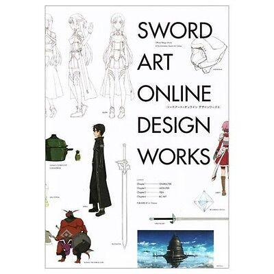 New Sword Art Online Design Works Book Official setting material collection