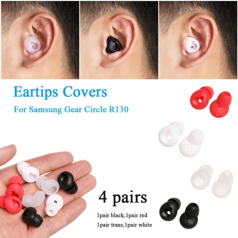 9AA3 1Pair 60mm Ear Pad Ear Cap Cover For Earphone Protector Comfortable Black