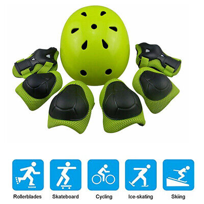 7xSports Protective Gear Pad Skateboard Wrist Elbow Knee Protectors Set for Kids