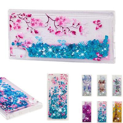 Cover Case For Sony Xperia XA3 Ultra XZ4 XA2 Glitter Bling Clear Quicksand Soft