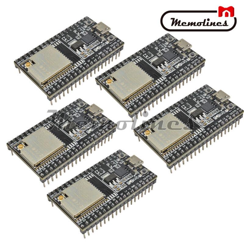 1-5pcs Esp32-wroom-32u Esp32-devkitc Module Core Board Esp32 Development Board