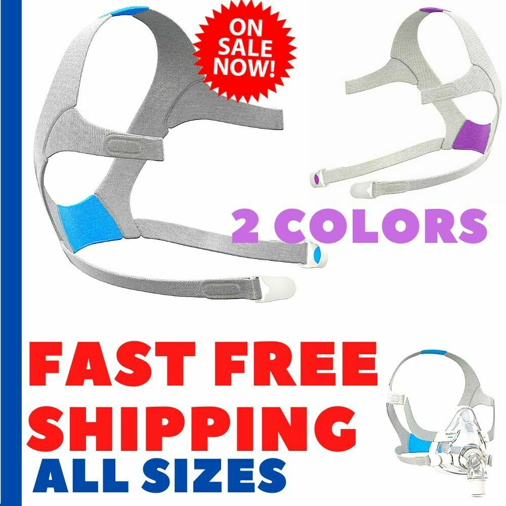 Resmed Plush Headgear Airfit AirTouch F20 for CPAP Full Face