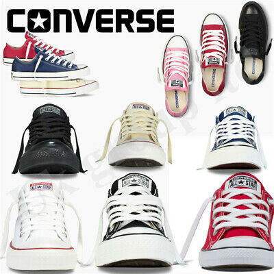 Converse All Star Hi/lo Convas Shoes Unisex Trainers UK