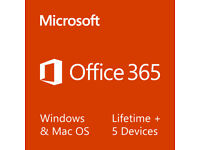 Microsoft Office 2016 365 ProPlus Lifetime License Windows, Mac & Mobile Devices