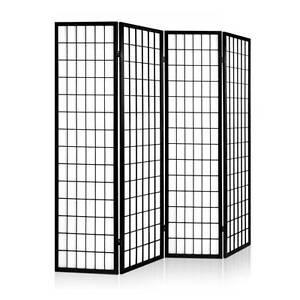 Room Divider 4 Panel - Black Sydney City Inner Sydney Preview